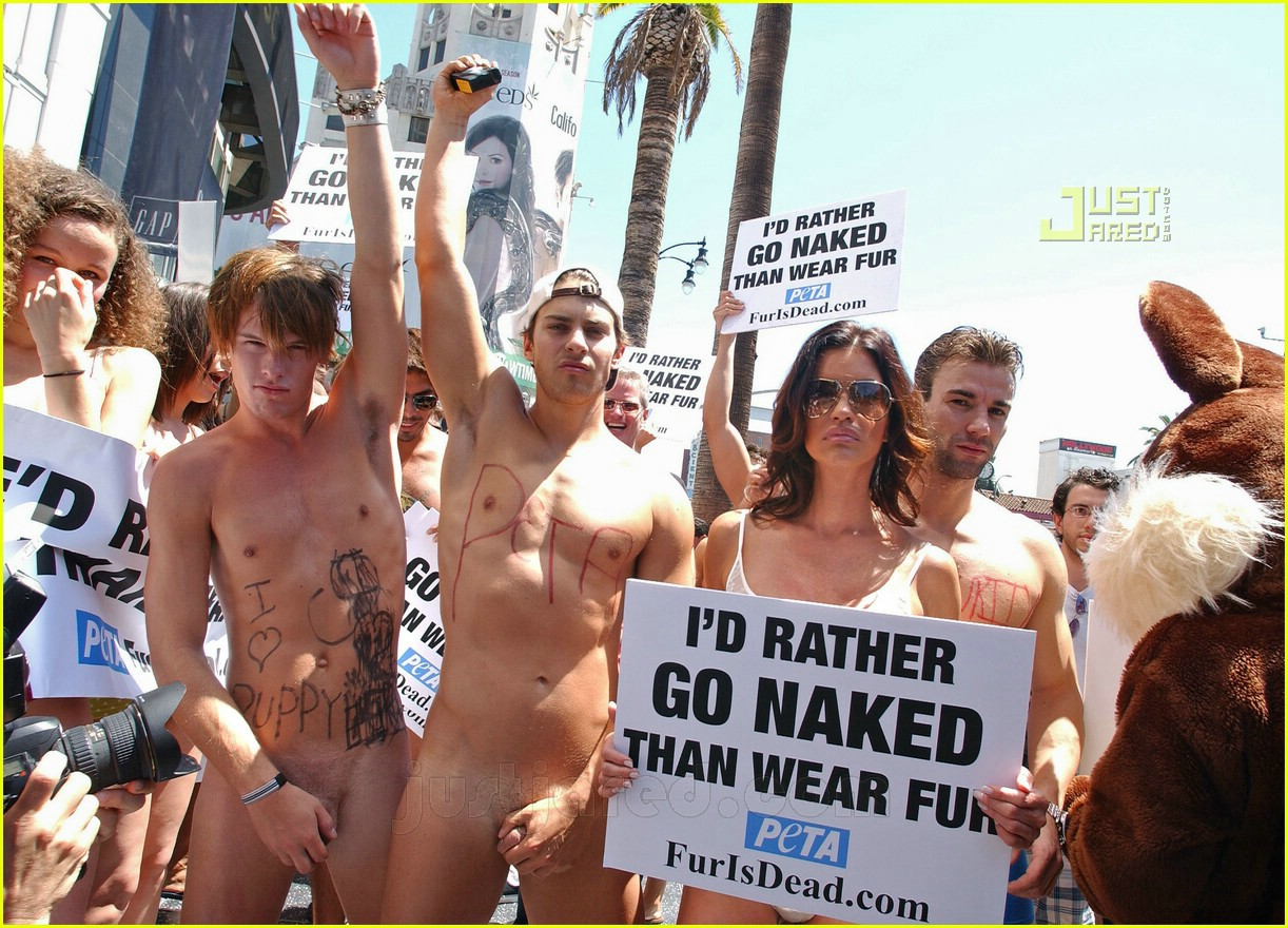 Go michelle naked fur wear rather than