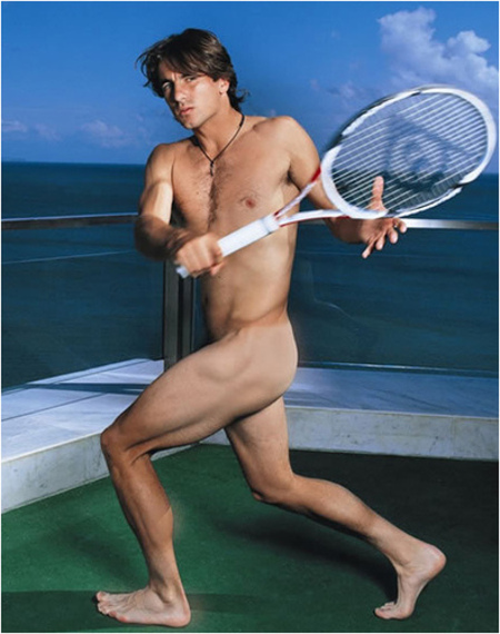Tennis Player Nude