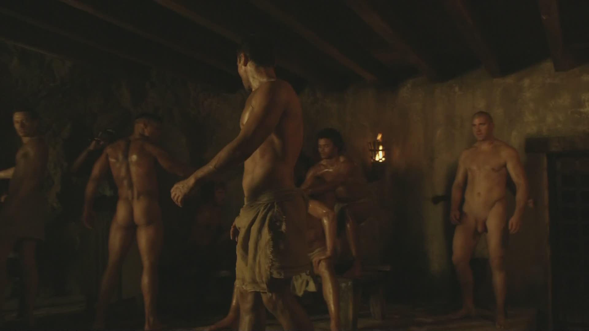 spartacus bold scenes