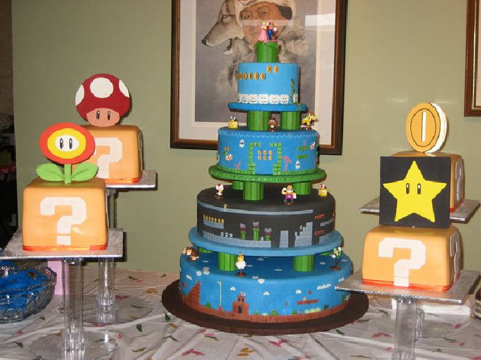 Omg How Delicious Super Mario Birthday Cakes Omg Blog The