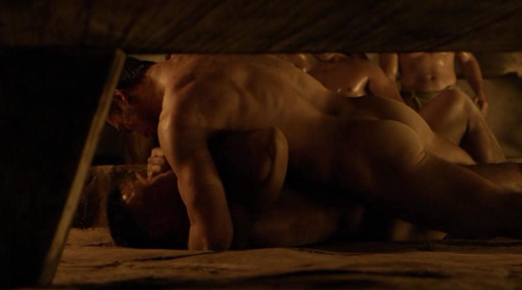 homoseksuel spartacus sex scene