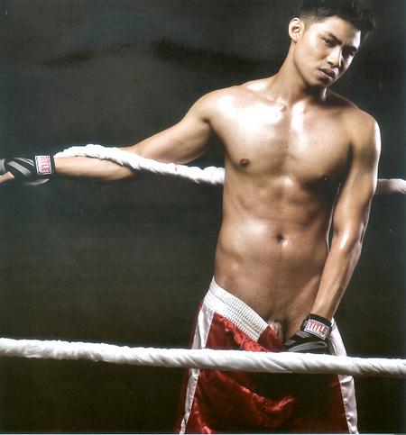 Artist nude filipino male