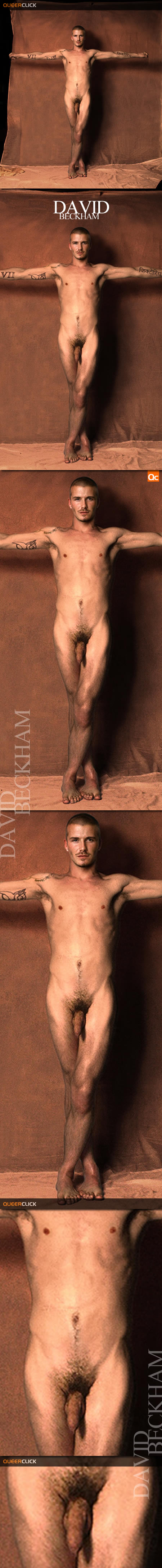 David beckham fully naked uncensored