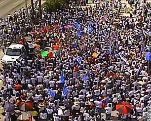 Florida immigrant protest
