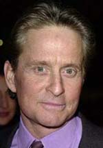 Michael Douglas face