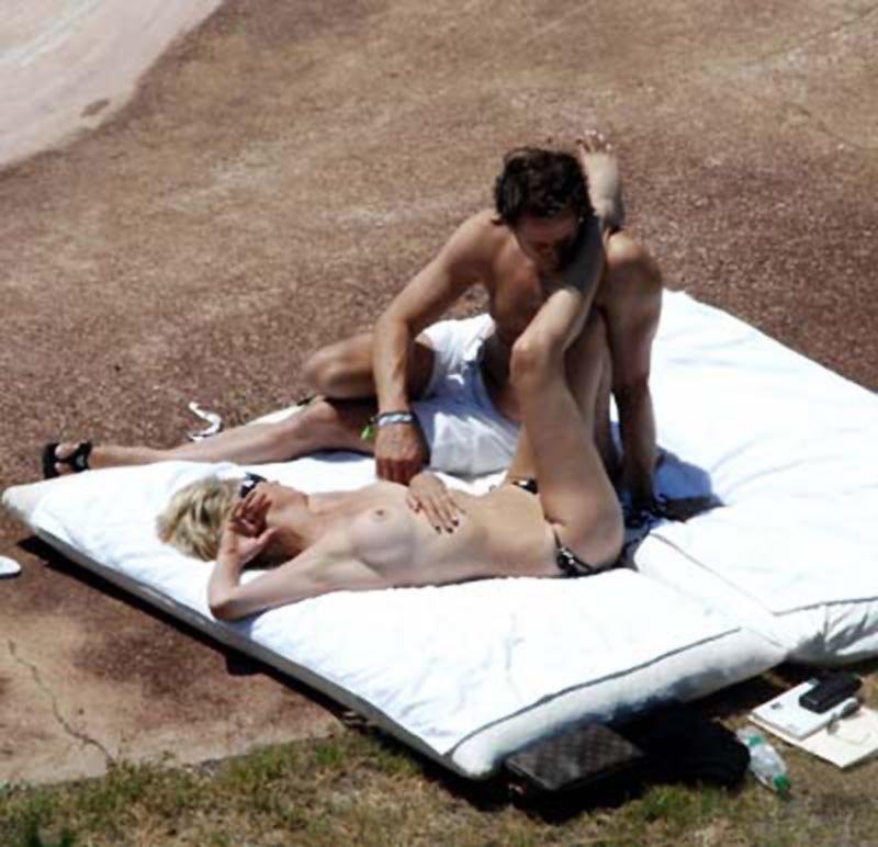 Sharon pierre desnuda nue
