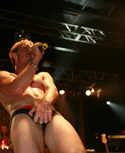 Jake Shears Scissor Sisters underwear