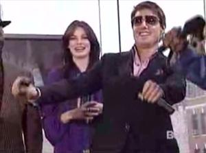 Tom Cruise dancing on BET