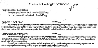 contract of wifely duties