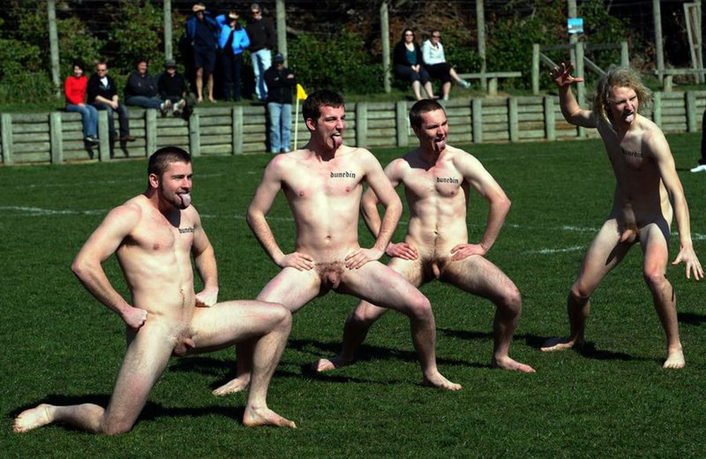 Semi nude football guys 1