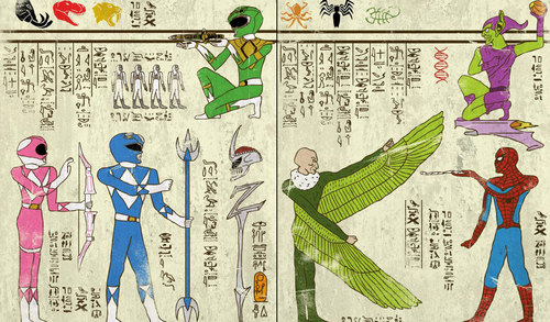 classic-movies-in-turkish-miniatures-posters-and-super-heroes-as-hieroglyphics-by-murat-palta-and-josh-lane-1-power-rangers-spiderman.jpg