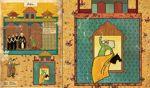 classic-movies-in-turkish-miniatures-posters-and-super-heroes-as-hieroglyphics-by-murat-palta-and-josh-lane-6-godfather.jpg