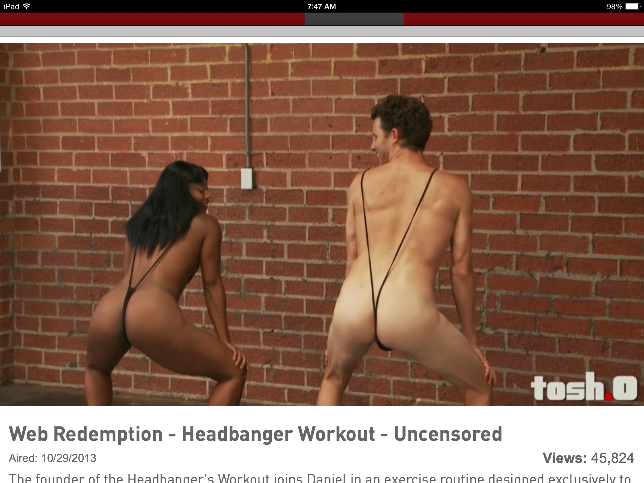 Daniel tosh uncensored naked