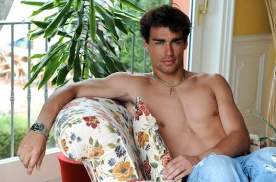 OMG, his butt: Italian tennis player Fabio Fognini poses naked for ...