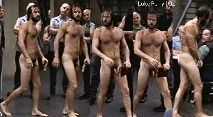 Luke Perry naked
