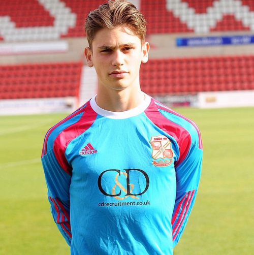 Aaron Moody Swindon Town FC Academy & Reserve goal keeper