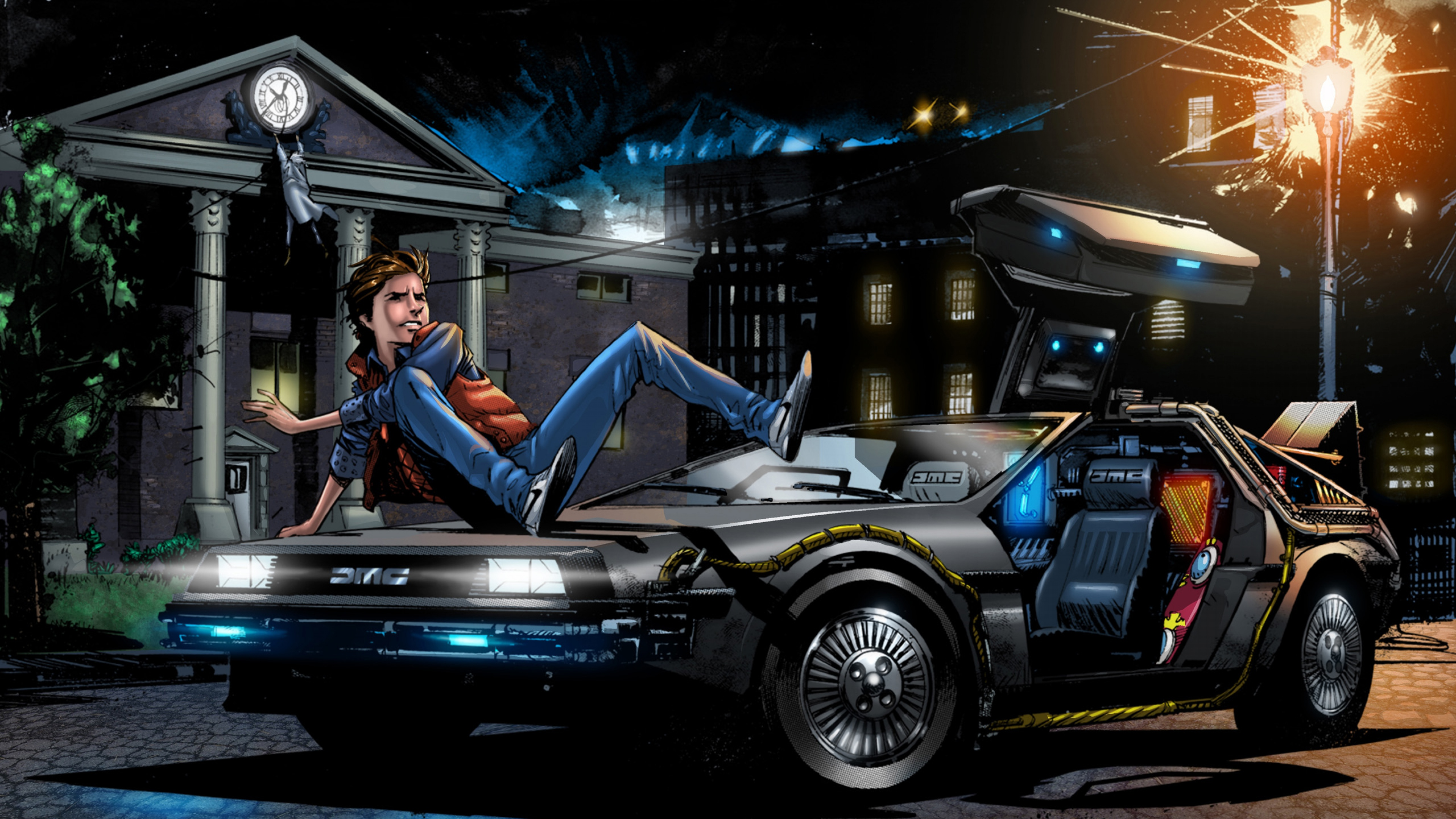Omg Made Popular Again By Back To The Future Delorean