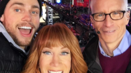 Gus Kenworthy Kathy Griffin Anderson Cooper New Years Eve