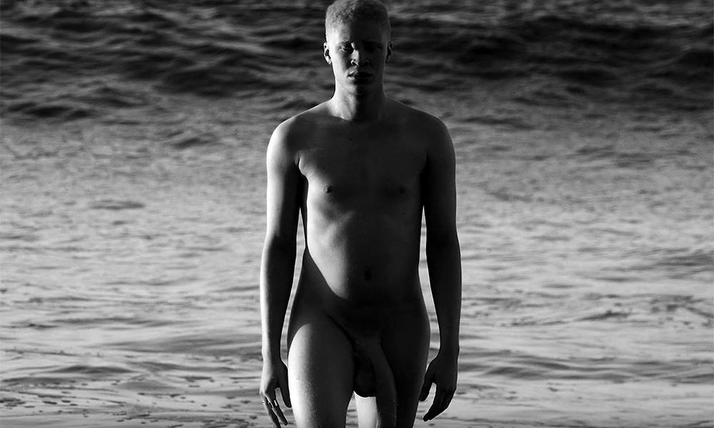 Hot albino men