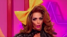 Alyssa Edwards enters the room