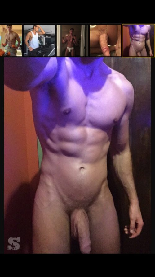 Male model Laurent Marchand nude