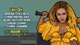 Beyonce Lemonade Rage video game