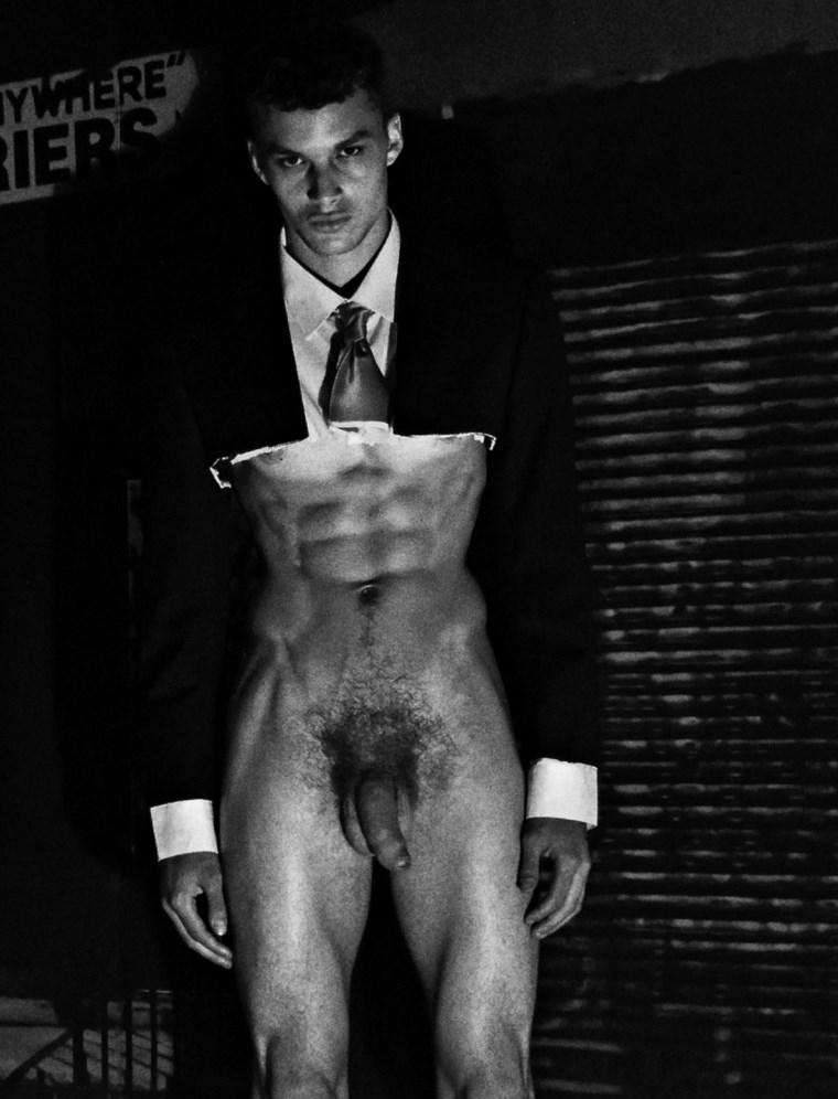 Fashion male model nude 33