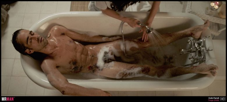 Colin Farrell nude in Triage