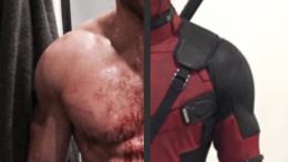 Ryan Reynolds shirtless Deadpool