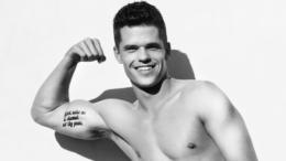 Charlie Carver shirtless