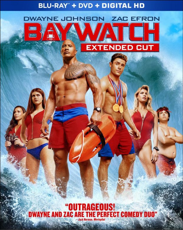 Baywatch 2017 film cover