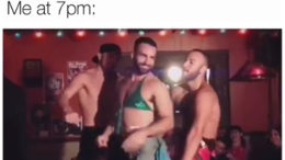 Gay guys dancing to Britney Spears Slave 4 U