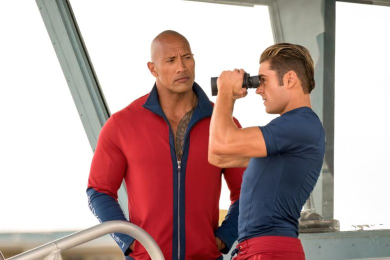Dwayne The Rock Johnson and Zac Efron