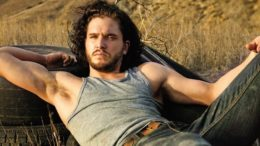 Kit Harington Reclined