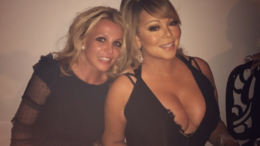 Mariah and Britney at dinner