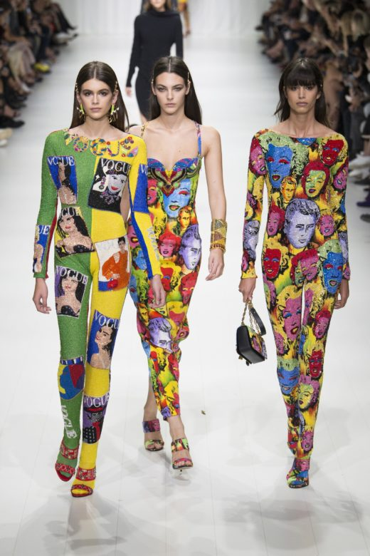 Versace Spring 2018 collection
