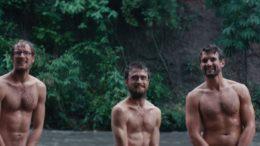 Daniel Radcliffe, Alex Russell & Joel Jackson in 'Jungle'