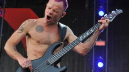 Michael Balzary aka Flea from Red Hot Chili Peppers