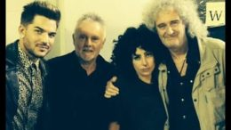 Lady Gaga with Queen and Adam Lambert in Australia