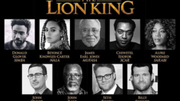 Beyonce in Lion King cast