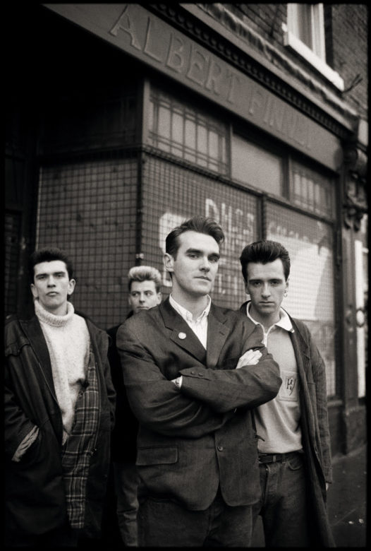 Portrait of Morrissey and The Smiths