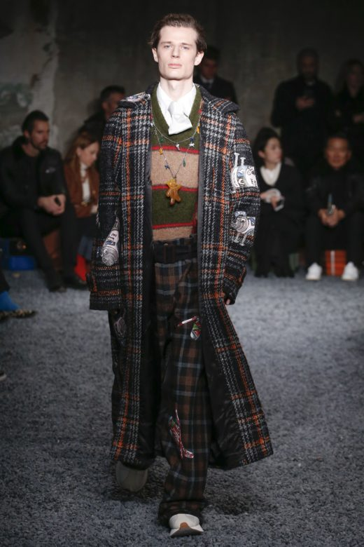Marni Fall 2018 men's finale look