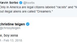 Kevin Sorbo Chrissy Teigen Twitter spat