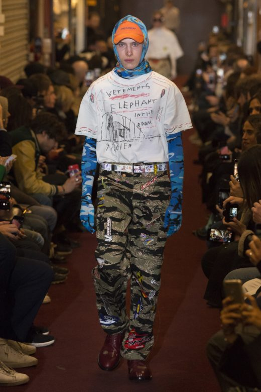 Vetements Fall 2018 men's wear