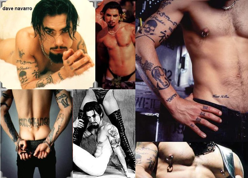Is dave navarro gay