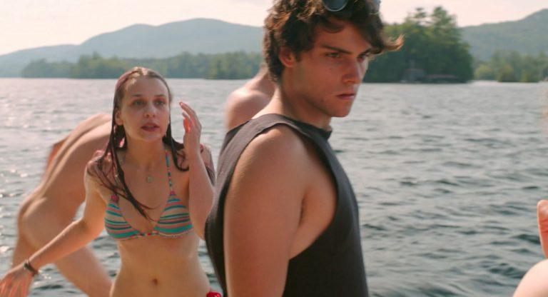 OMG, hes naked: Robert Sheehan in Song of Sway Lake