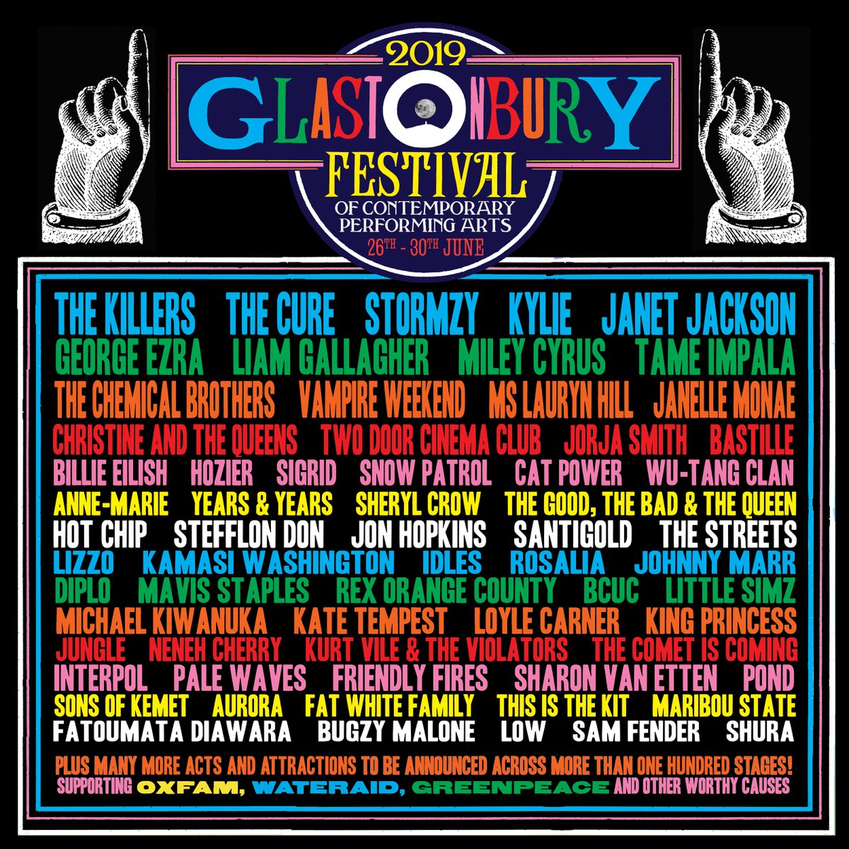 OMG, Janet Jackson applies her Photoshop skills to let everyone know that she is HEADLINING Glastonbury, y'all!   OMG.BLOG