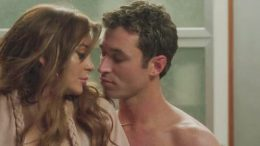 Lidnsay Lohan and James Deen in The Canyons