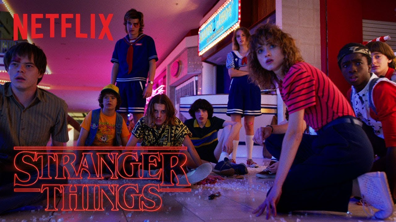 For those of you still watching, the trailer for STRANGER THINGS Season 3 is here