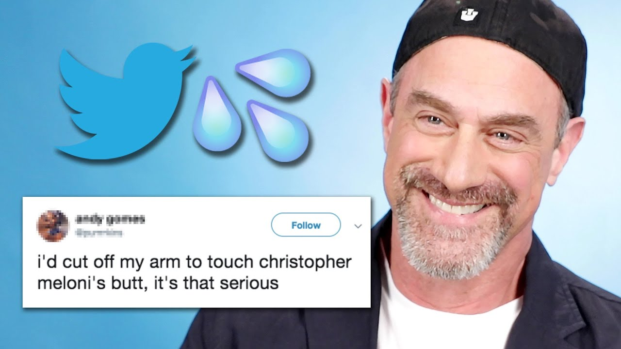Omg watch christopher meloni reads thirst tweets omg blog for Meloni arredamenti oristano
